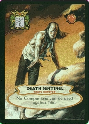 BV extra  cards  death sentinel