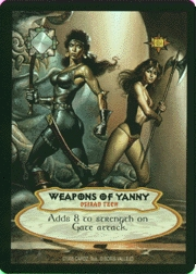 BV extra  cards  weapons of yanny