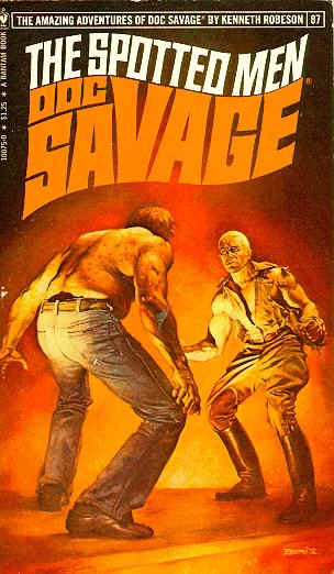 BV extra  doc savage  the spotted men