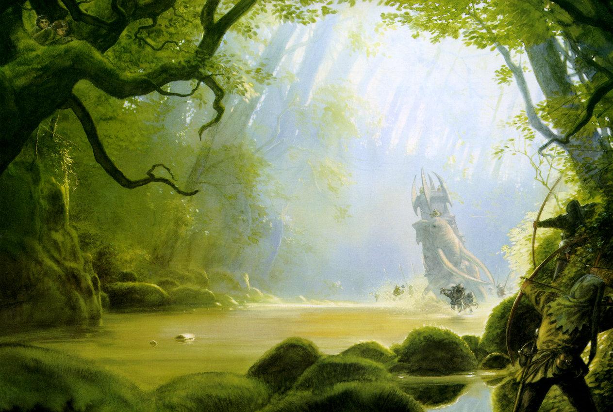 De l'Entraînement Pur et Dur [PV Trafalgar Law][Pendant Ellipse, Durée : 1 an] - Page 2 LOTR_FOREST_BATTLE