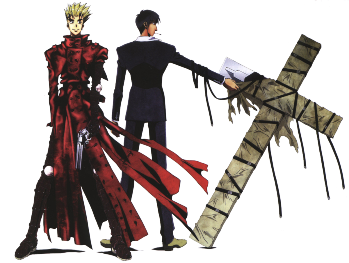 Trigun Digital Renders Digital Wallpapers Anime Wallpapers