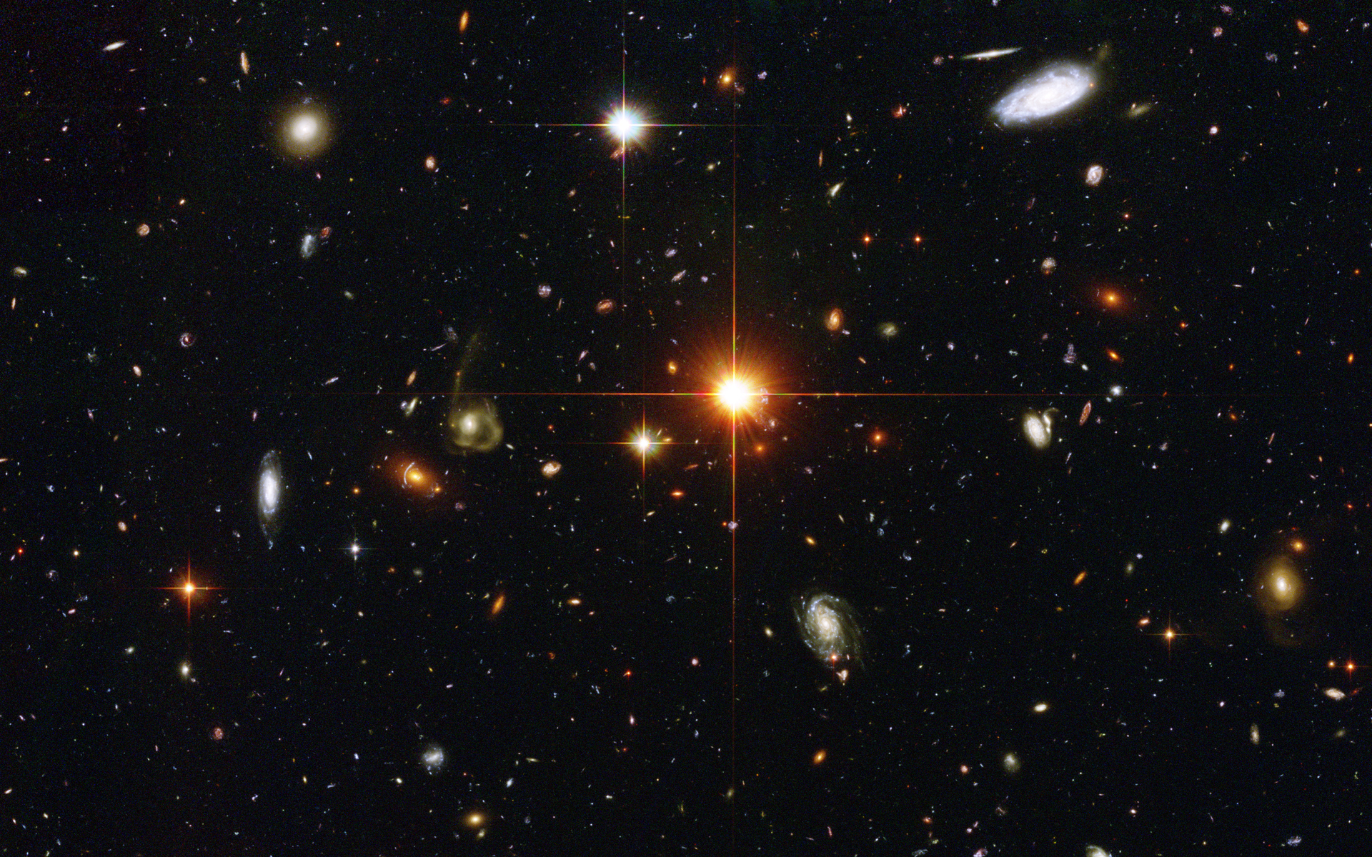hubble images galaxies