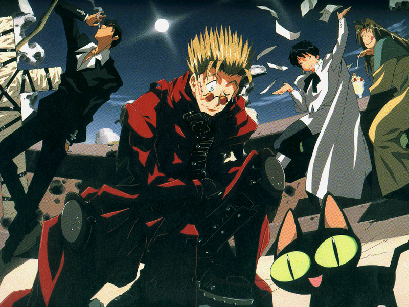 trigun cast «800x600 «Anime wallpapers «Anime wallpapers