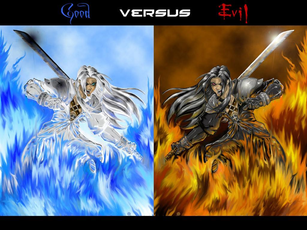 Good versus evil ld 1024x768 anime wallpapers anime - Wallpaper 1024x768 anime ...