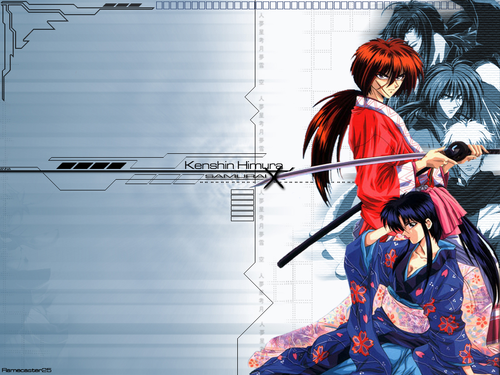 Samurai x 1024x768 anime wallpapers anime wallpapers samurai x voltagebd Images
