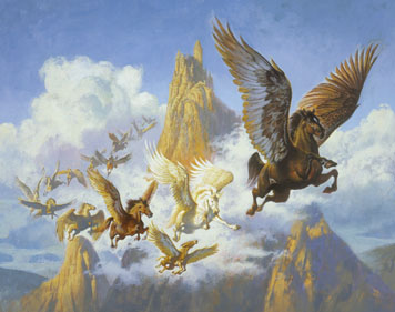 Flock of Pegasus