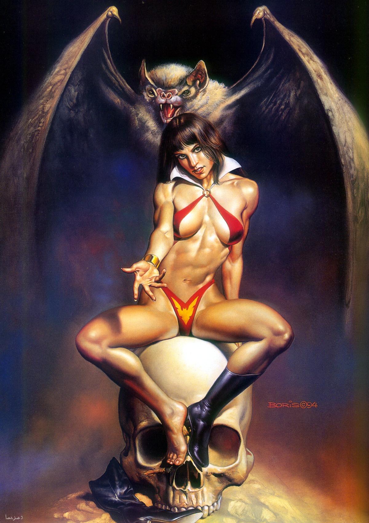 Секс с женщиной вампом 1 фотография