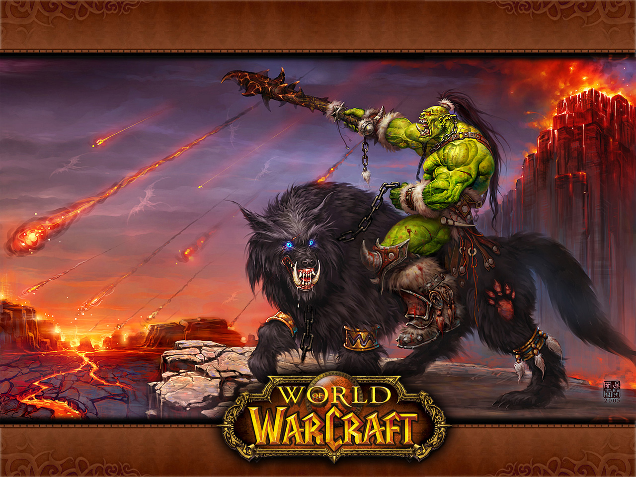 Warcraft orc raider adult gallery