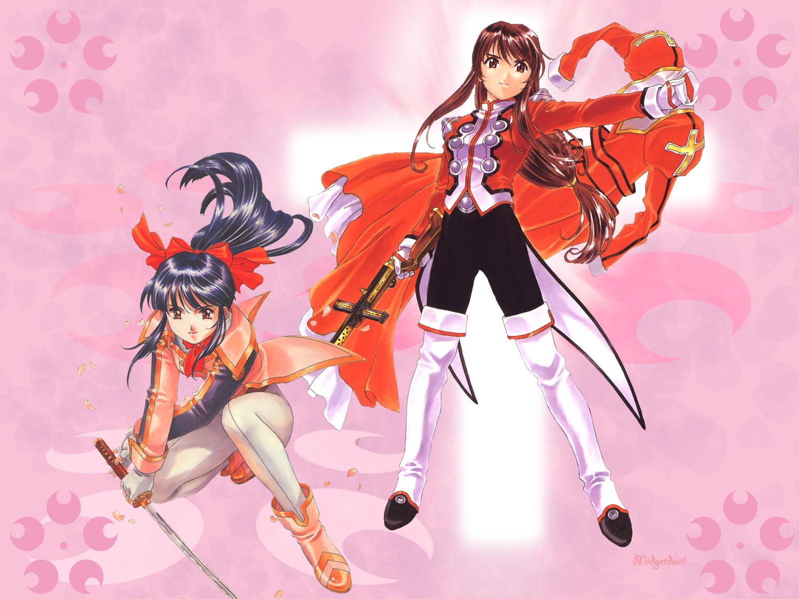 Sakura Wars 1600x1200 Anime Wallpapers Anime Wallpapers