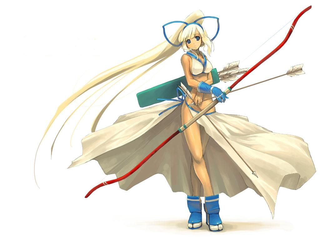 Anime Characters Using Bow : In the land of fantasy rpg