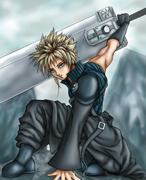Advent Children Cloud Strife by god