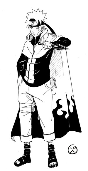 Naruto  7th Hokage by TAKORUone