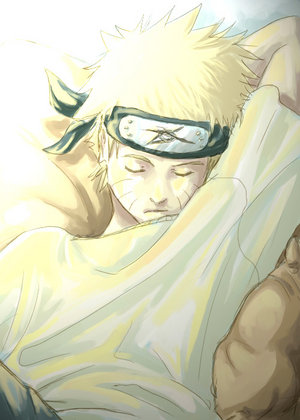 Naruto  Naru Sleeping by darkseraphaerith