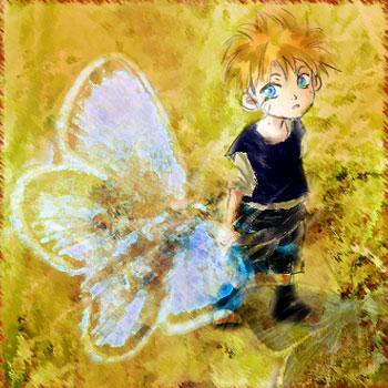 naruto butterfly