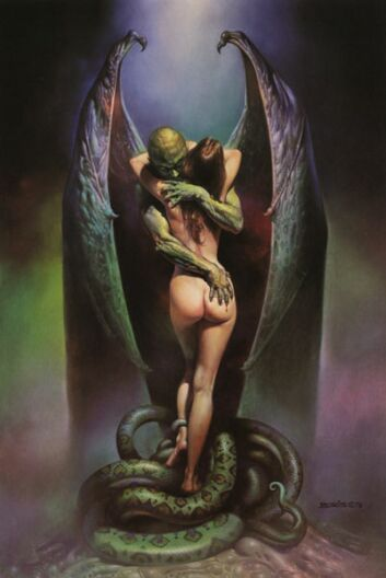 Boris Vallejo   Demon Lover, Vampires Kiss