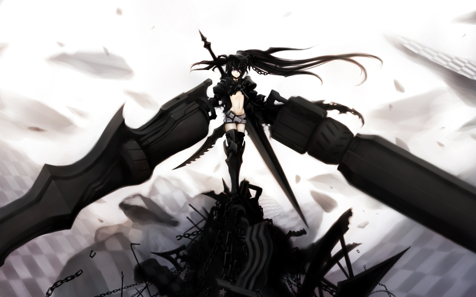 Badass Anime Girl Fantasy Art
